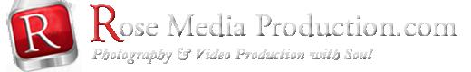 Rose Media Production Logo